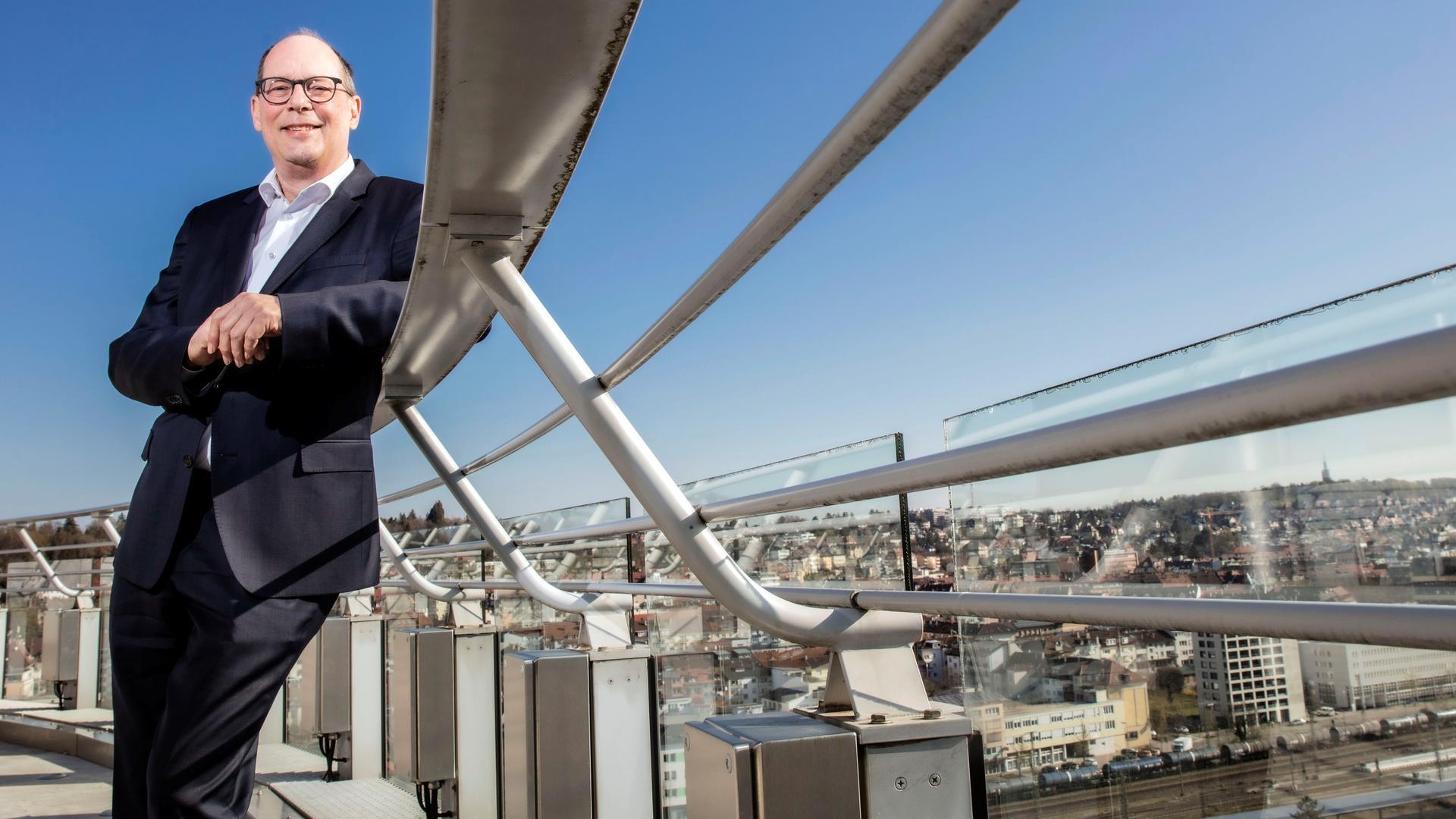 Stephan Scholl leitet die Sparkasse Pforzheim-Calw