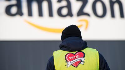 Amazon wollte Streiks auf seinen Parkplätzen verhindern - vergeblich.