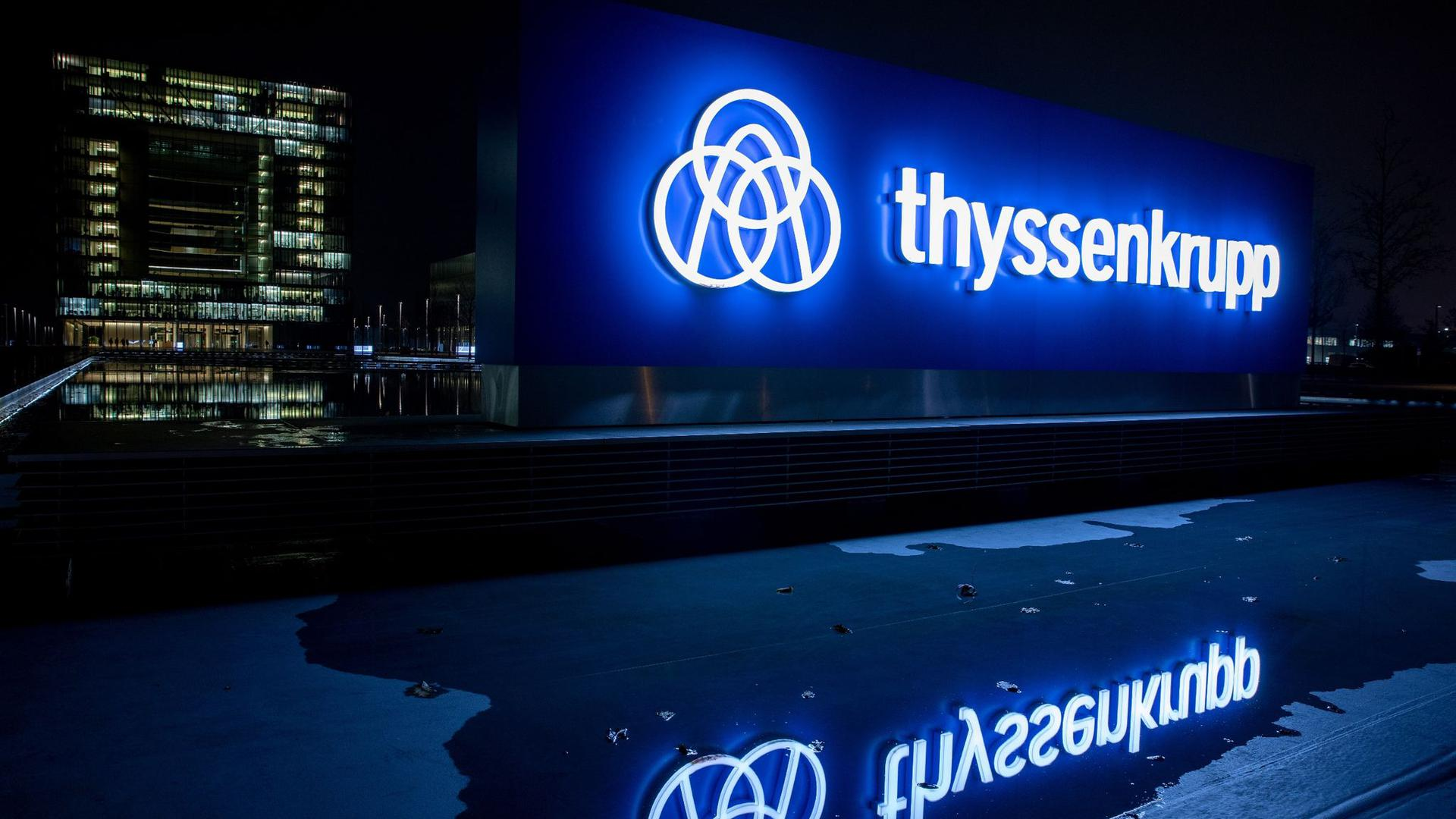 Die Corona-Krise macht Thyssenkrupp schwer zu schaffen.