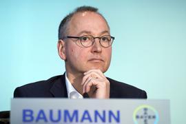 Bleibt an der Spitze des Pharma- und Agrarchemiekonzern Bayer:Werner Baumann.