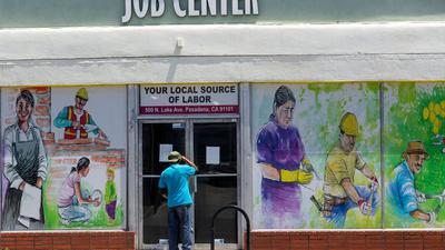 Seit 70 Jahren hat es in den USA nicht mehr eine solch hohe Arbeitslosenquote vor einer Präsidentschaftswahl gegeben.
