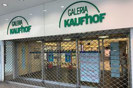 Auch die Kaufhof Filiale in Essen ist geschlossen.
