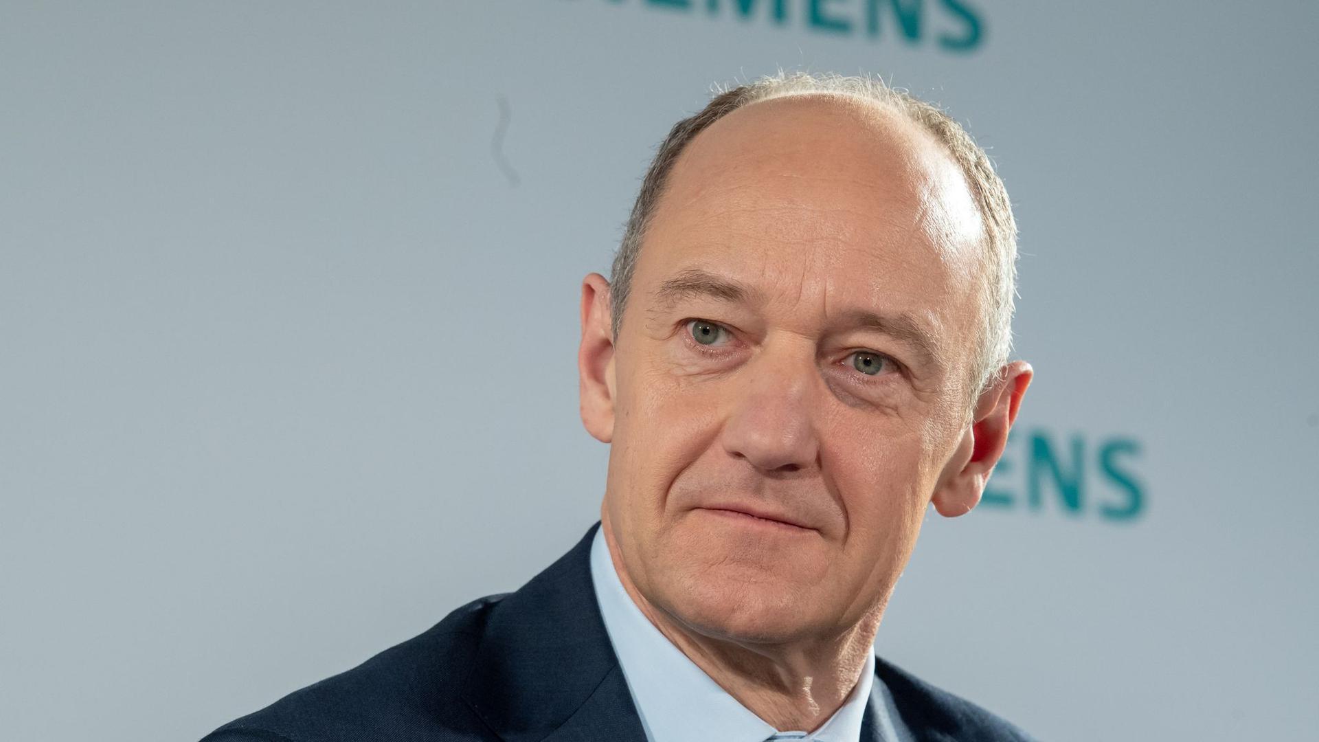Der designierte Siemens-Vorstandschef Roland Busch.