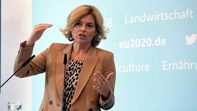 Die deutsche Landwirtschaftsministerin Julia Klöckner leitet die EU-Verhandlungen.
