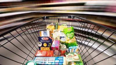 Die Umsätze bei Lebensmitteln sind nach Angaben eines Branchenverbands nicht gestiegen.