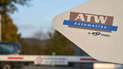 Das Firmengebäude des Autozulieferers ATW (Assembly & Test Europe GmbH) in Neuwied.