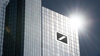 Im vergangenen Jahr hatte die Deutsche Bank mit tiefroten Zahlen zu kämpfen.