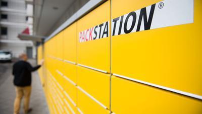 In den Packstationen landen ausschließlich Pakete, die DHL transportiert hat - Sendungen anderer Dienstleister sind außen vor.