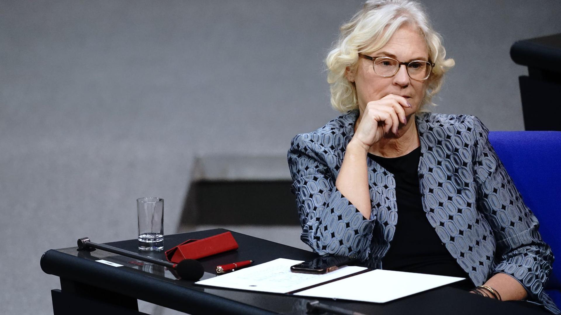 Justizministerin Christine Lambrecht.