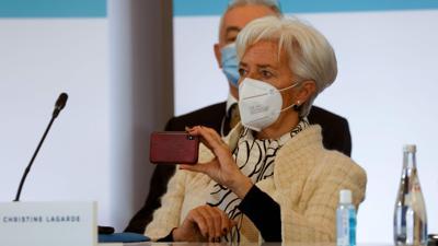 Christine Lagarde, Präsidentin der Europäischen Zentralbank.