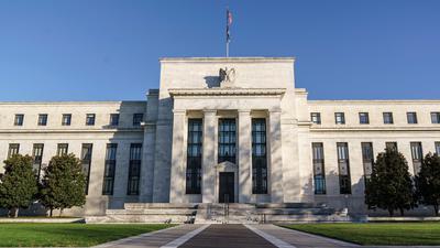 Die Zentrale der US-Notenbank Federal Reserve in Washington.