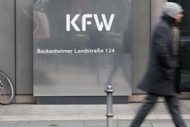 Die KfW sagte in Deutschland im vergangenen Jahr insgesamt rund eine Million Kredite, Zuschüsse und andere Finanzierungen zu.