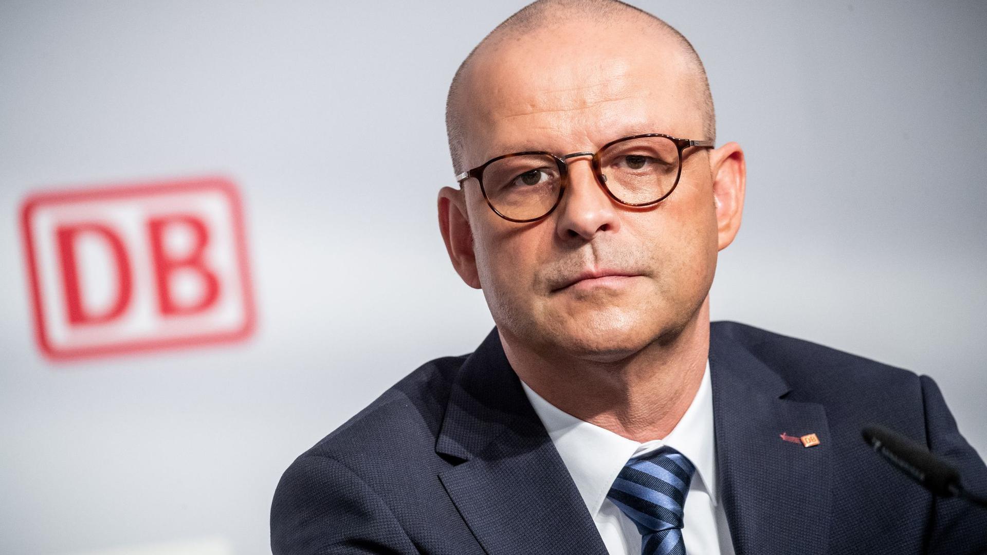Martin Seiler, Personalvorstand der Deutschen Bahn.