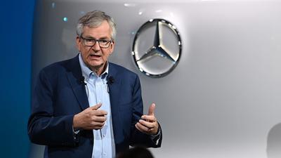 Martin Daum ist der Vorstandsvorsitzende von Daimler Trucks & Buses.