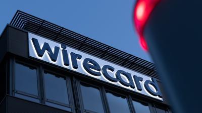 Das Wirecard-Logo ist am Hauptsitz des Zahlungsdienstleisters in Aschheim bei München zu sehen.
