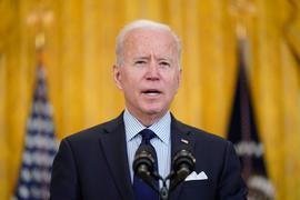 """US-Präsident Joe Biden: """"Immer noch dabei, uns aus einem wirtschaftlichen Kollaps herauszuwinden."""""""