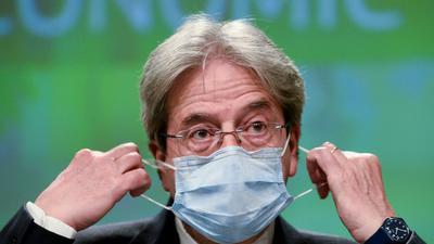 Paolo Gentiloni, EU-Wirtschaftskommissar, hofft auf ein deutliches Wachstum.