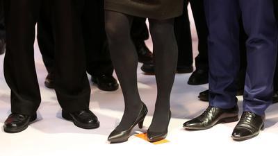 In den Vorständen börsennotierter Unternehmen sind Frauen eine Seltenheit.