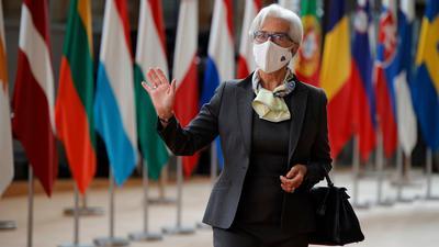 EZB-Präsidentin Christine Lagarde plädiert für eine Politik der ruhigen Hand.