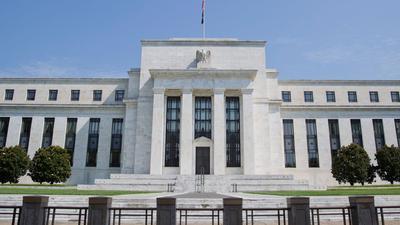 Der Hauptsitz der US-Notenbank Federal Reserve in Washington.