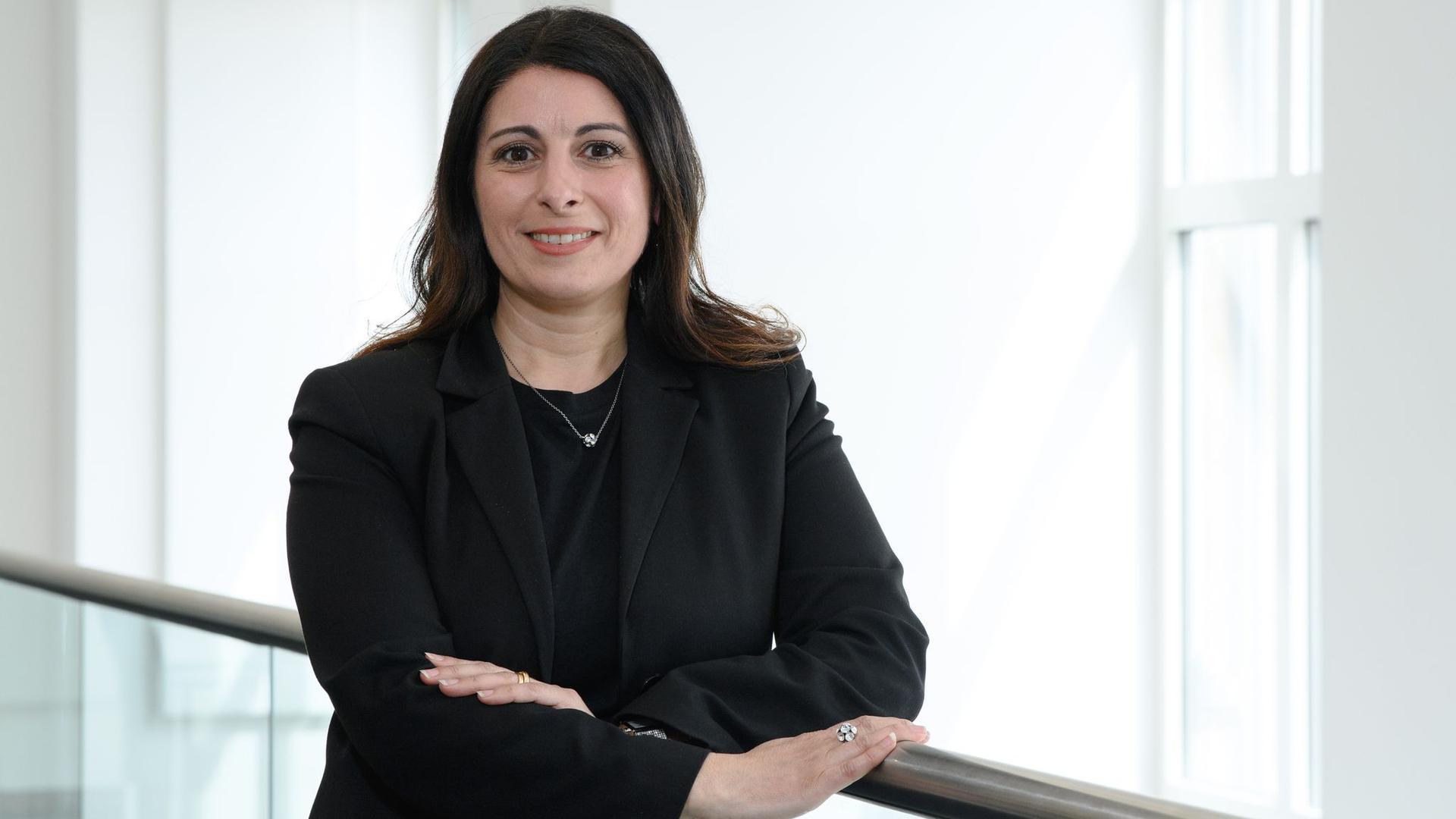 Daniela Cavallo, Vorsitzende des Gesamt- und Konzernbetriebsrats der Volkswagen AG, nach einem Gespräch mit einem dpa-Journalisten.
