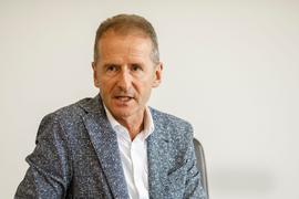 Herbert Diess, Vorsitzender des Vorstands der Volkswagen AG, will das autonome Fahren vorantreiben.