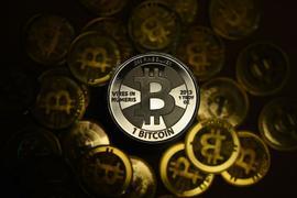 Der Bitcoin-Kurs lag zwischenzeitlich wieder bei über 45.000 US-Dollar.