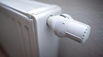 Das Thermostat einer Heizung. Die Menschen in Deutschland haben erneut mehr Energie zum Wohnen verbraucht.
