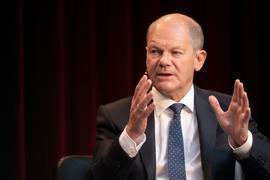 """""""Ein Prozess, der einen Übergang benötigt"""": Bundesfinanzminister Olaf Scholz."""