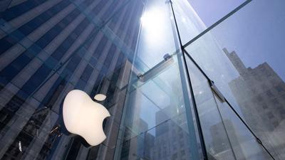 Ein Apple Store auf der NewYorker Fifth Avenue.