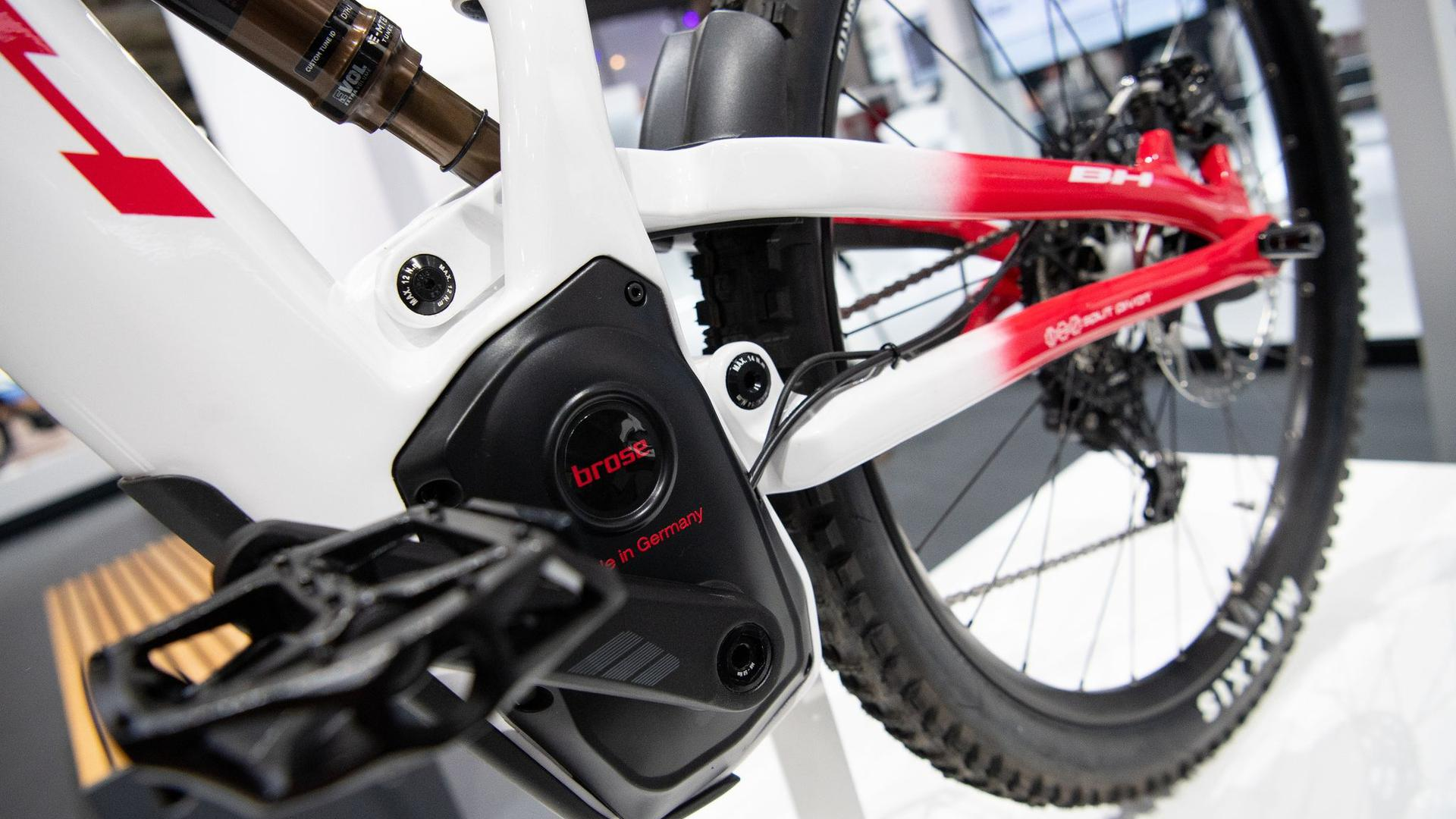 Ein E-Bike mit einem Motor von Brose.