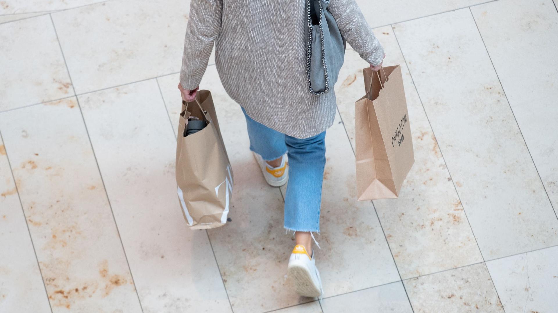 Noch nicht alle gehen wieder gerne und sorglos einkaufen.