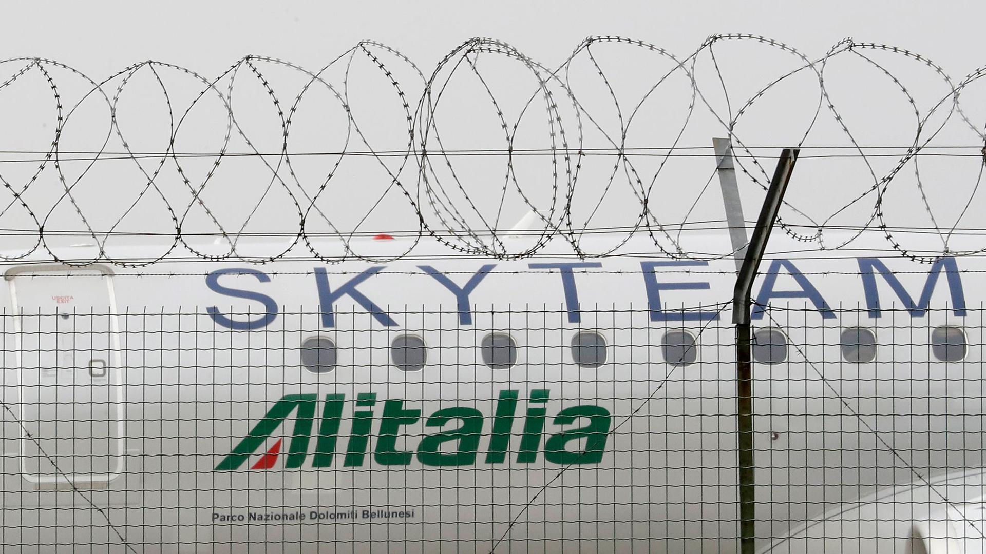 Mit dem Aus soll auch die Marke Alitalia verkauft werden.