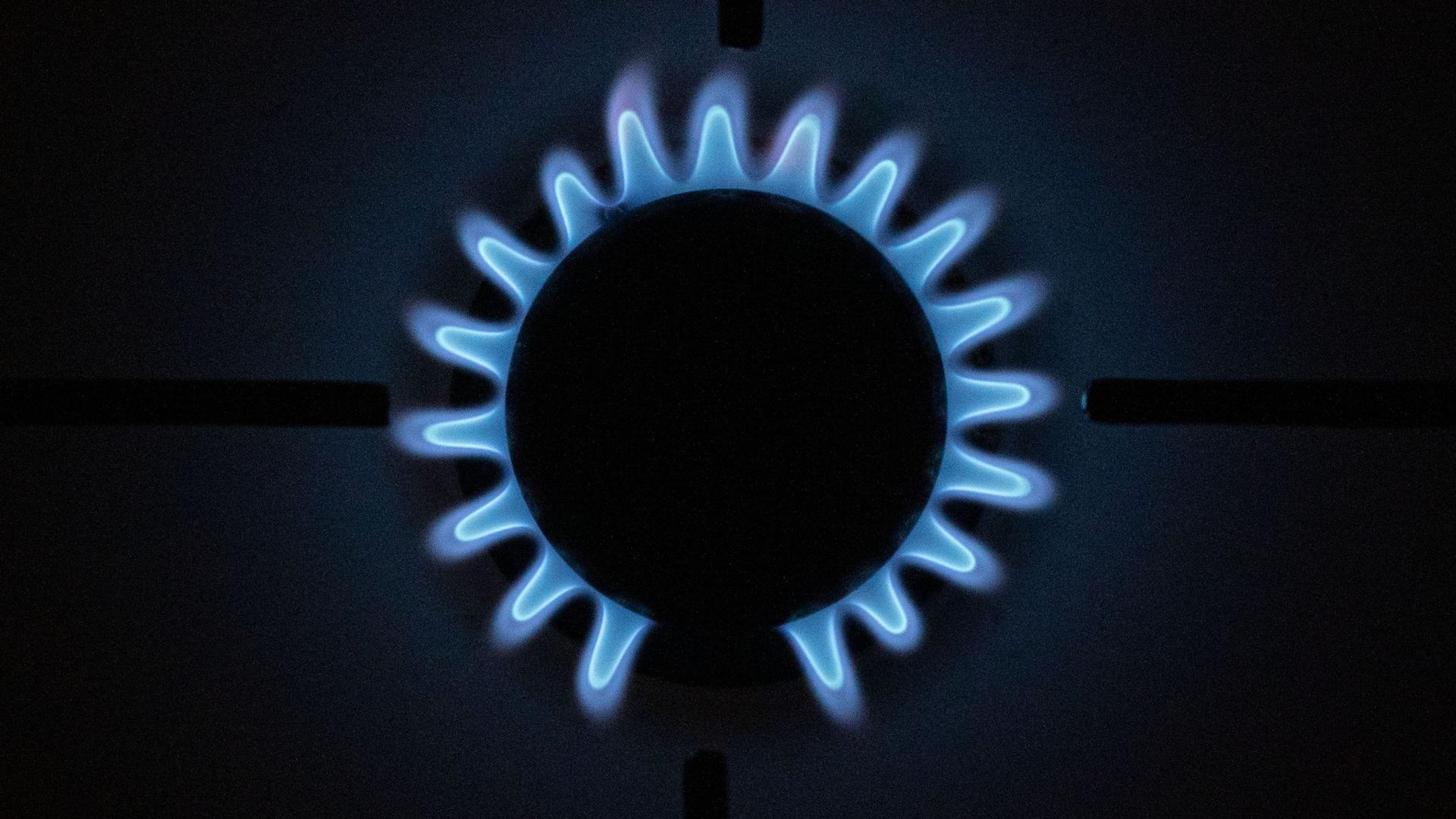 Gas wird immer teurer.