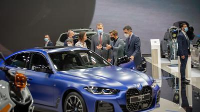 Auf der Automesse in Barcelona wurde das Modell i4 bereits vorgestellt.