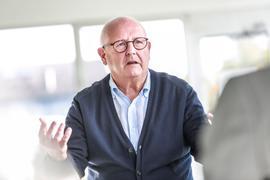 Handwerkskammerpräsident Joachim Wohlfeil im Gespräch