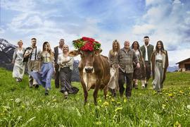Alm Südtirol Menschen
