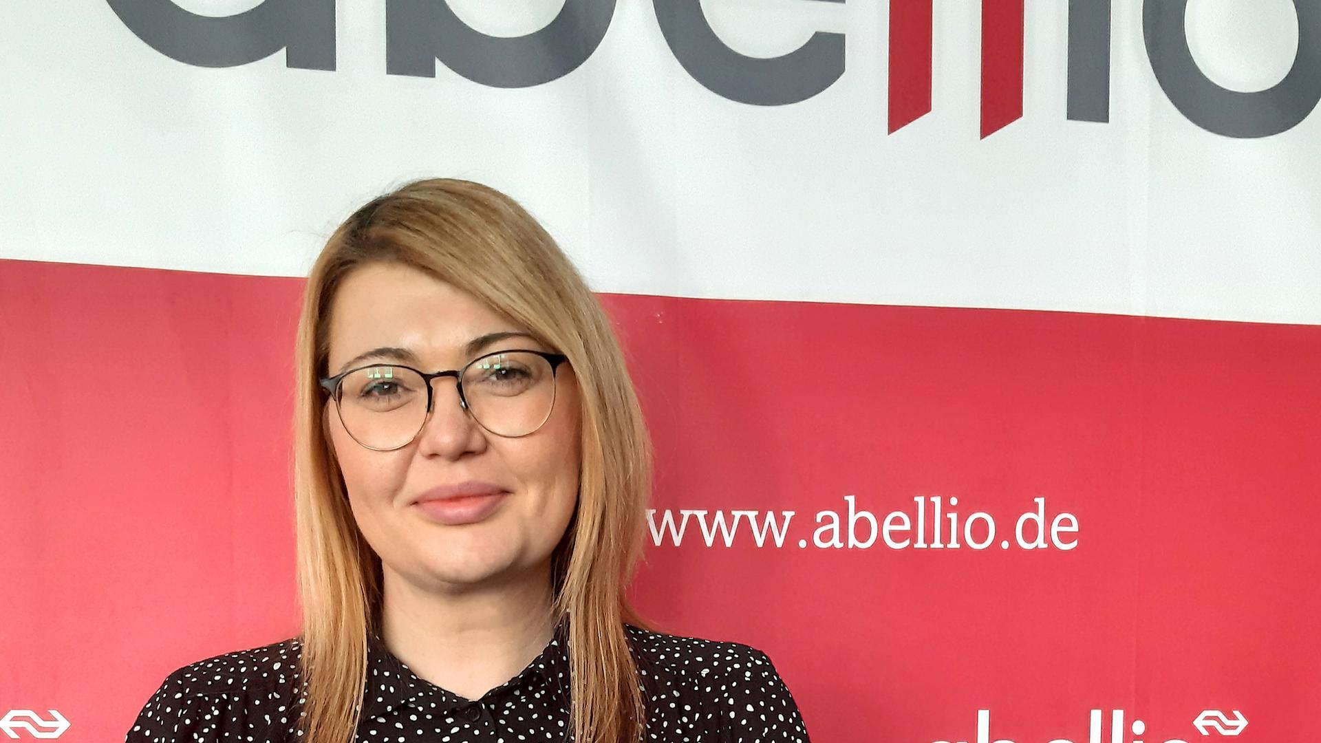 Hanelore Schuster, Sprecherin von Abellio in Stuttgart