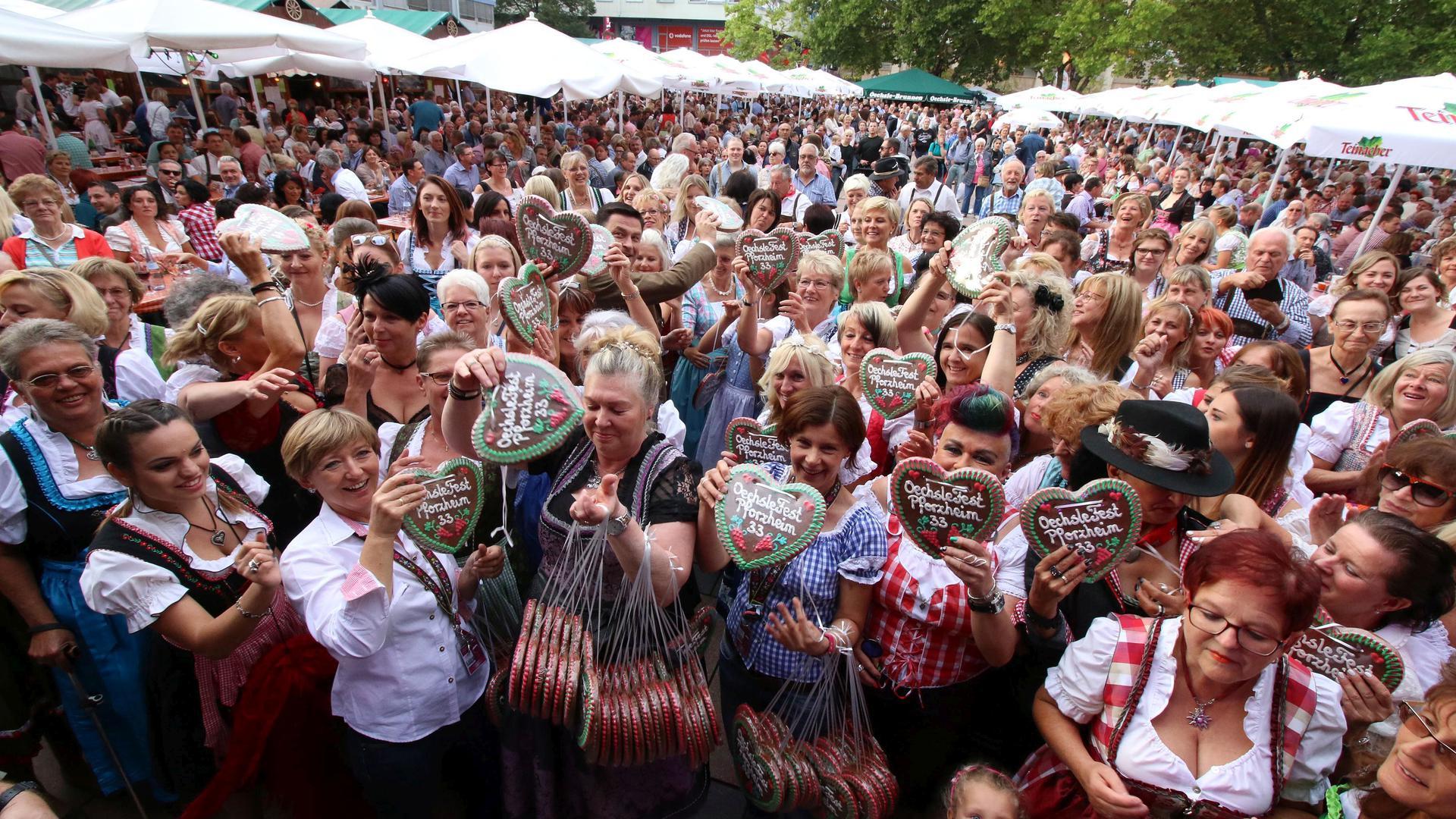 Dirndl-Abend Oechsle-Fest 2018