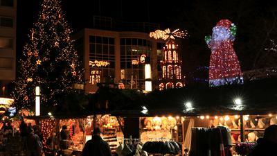 Der Pforzheimer Weihnachtsmarkt ist wegen der Corona-Pandemie abgesagt worden.