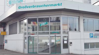 Großverbrauchermarkt von Müller-Fleisch in Birkenfeld.