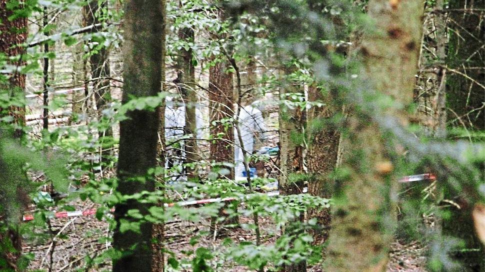 Die Leiche von Simon Paulus wird im Pforzheimer Hagenschießwald verscharrt. Ein Forstarbeiter findet sie.