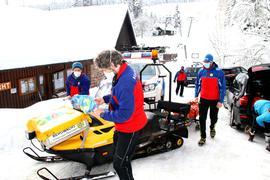 Bereit für den Wintereinsatz: Die Bergwacht Nordschwarzwald betreibt an Wochenenden die Bergrettungswache Kaltenbronn und betreut den Skilift dort sowie am Enzklösterle.