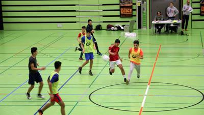 Es geht weiter: Die Kinder der Bolzplatzliga werden auch weiterhin gefördert. Welche der Sporthallen offen bleibt, das blieb in der Sitzung allerdings offen.