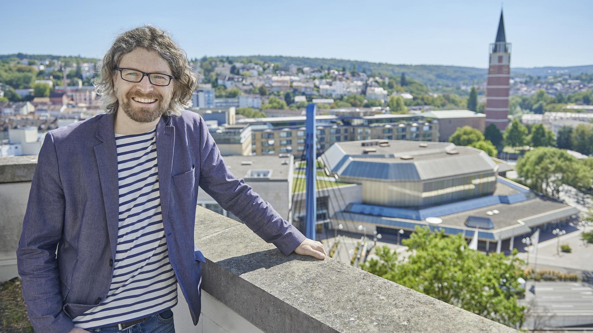 CongressCentrum Pforzheim mit Vertriebsleiter Daniel Schuch