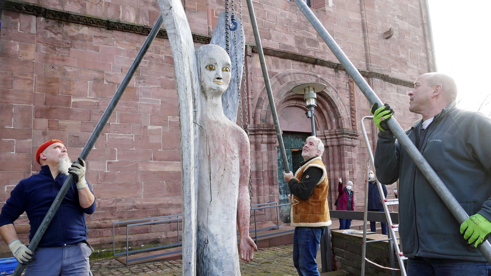 Skulptur, Arbeiter