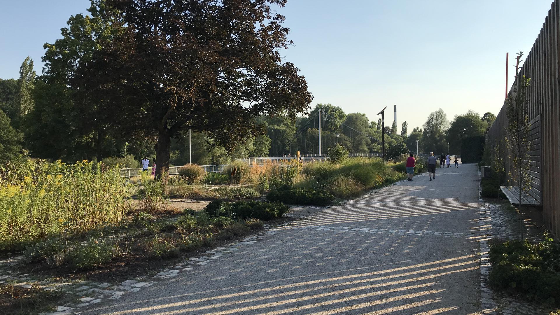 Enzauenpark südliches Ende
