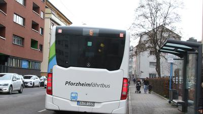 Bus in Pforzheim