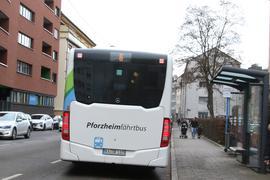 Bus in Pforzheim