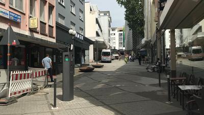 Immer wieder Tatort: Die Lammstraße in der Pforzheimer City hat ihren Ruf bei den Anwohnern weg. Die Polizei kann allerdings kein erhöhtes Kriminalitätsaufkommen erkennen.